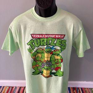 Teenage Mutant Ninja Turtles Tie Dye Shirt Large